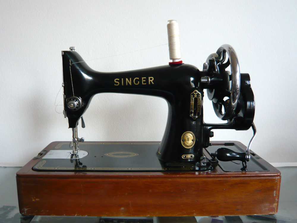 antique singer sewing machine | Wendy Ward