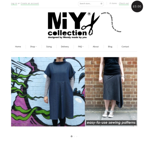 MIY Collection buy sewing patterns online