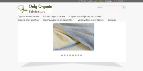 Only Organic Fabric