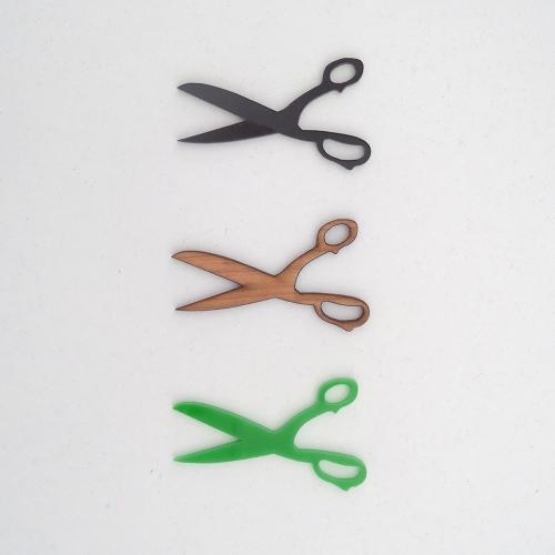 scissor pendants