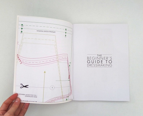 beginners guide to dressmaking pattern sheets