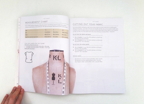 beginners guide to dressmaking t-shirt instructions1