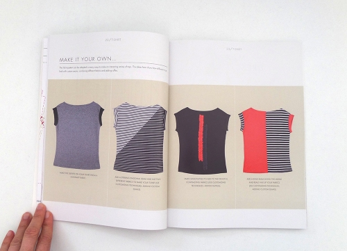 beginners guide to dressmaking t-shirt make it your own