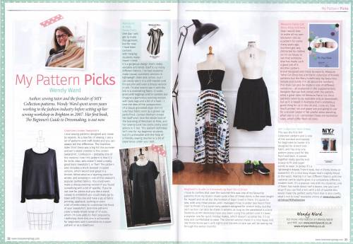 My Pattern Picks for Love Sewing magazine