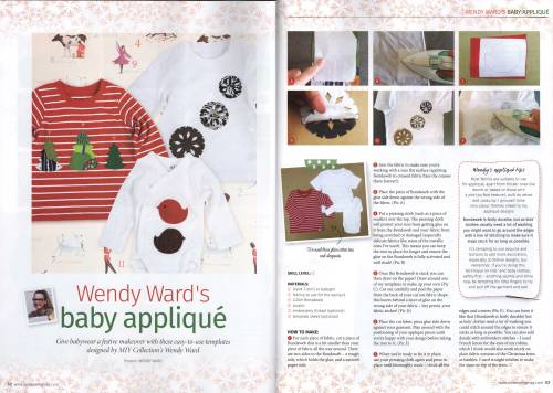 baby appliqué t-shirts love sewing magazine