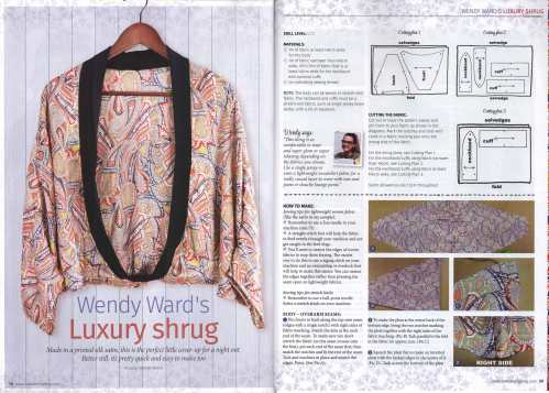 shrug project love sewing magazine 1