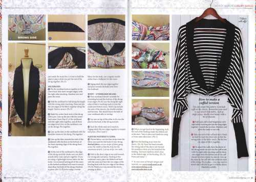 shrug project love sewing magazine 2
