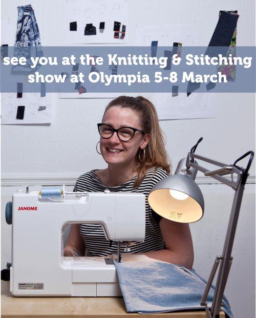 Wendy Ward Spring Knitting & Stitching Show Olympia