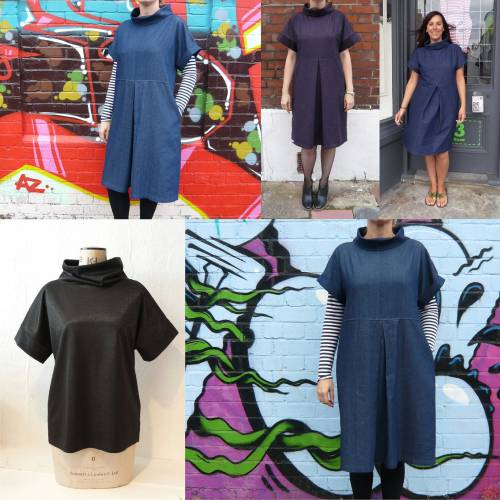 easy shift dress sewing pattern miy collection