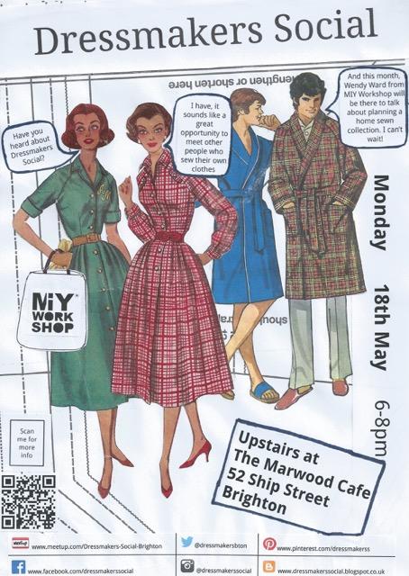 Dressmakers Social May 15