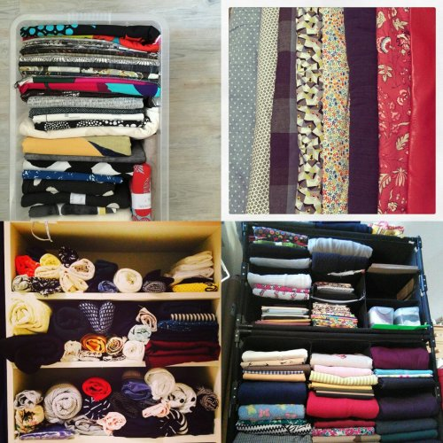 MIY March - fabric stash