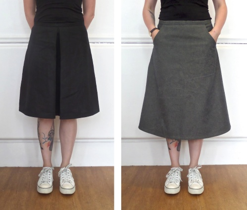 kelham ultimate aline skirt sewing pattern