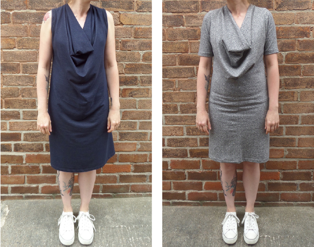 The second pattern is the Wisewood cowl neck dress and top. wisewood dress d879e14f8