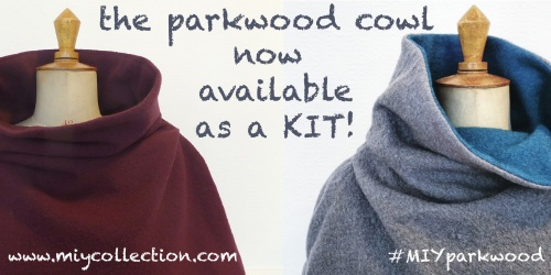 Parkwood Cowl pdf sewing pattern