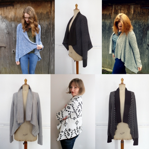 longley cardi sewing pattern