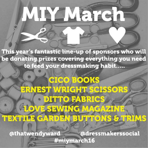 MIY March Sponsors