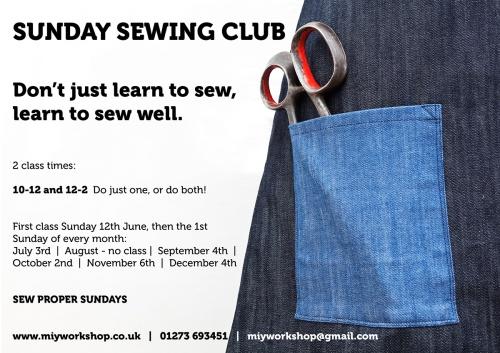 sewing classes brighton