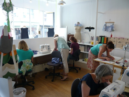 MIY Workshop Sewing class