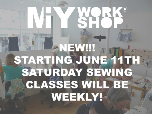 Saturday sewing classes brighton