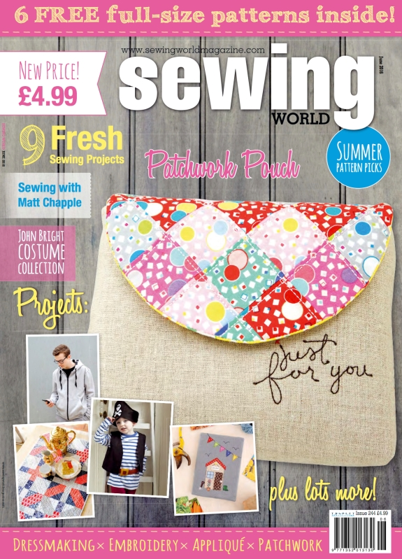 MIY Collection in Sewing World magazine | Wendy Ward