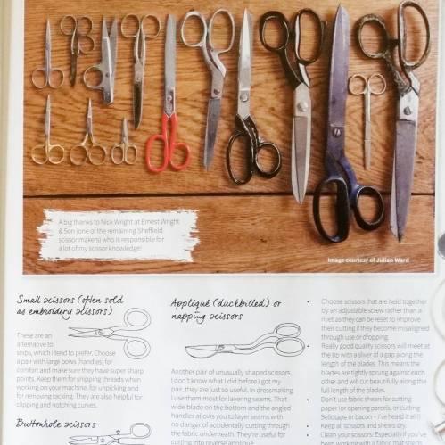 scissors for dressmaking