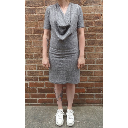wisewood cowl neck dress sewing pattern