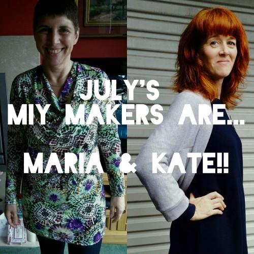 July MIY Makers