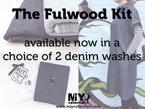 Fulwood dress sewing pattern kit