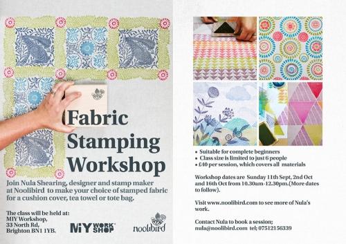 fabric printing classes brighton
