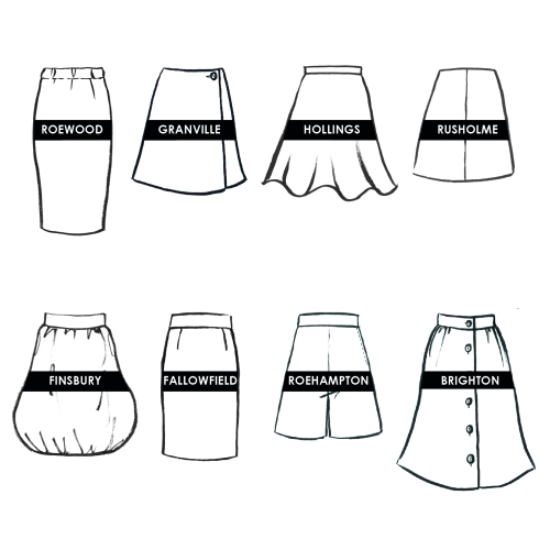 skirt project names