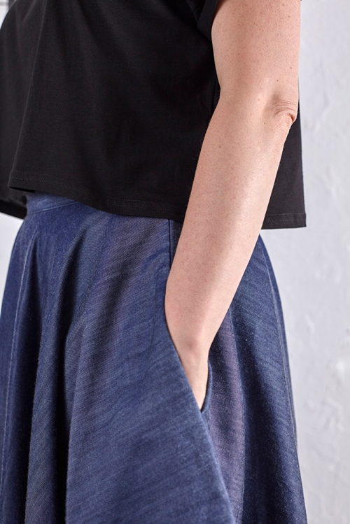in-seam side seam pocket