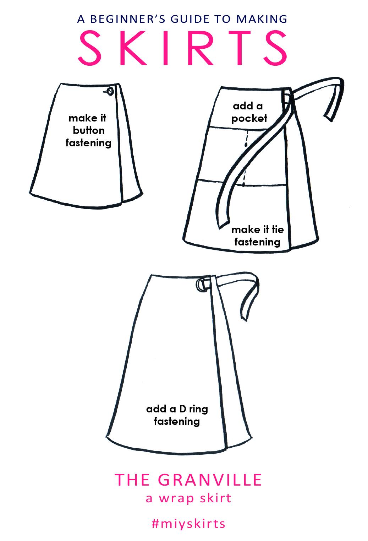 Pattern For Wrap Skirt