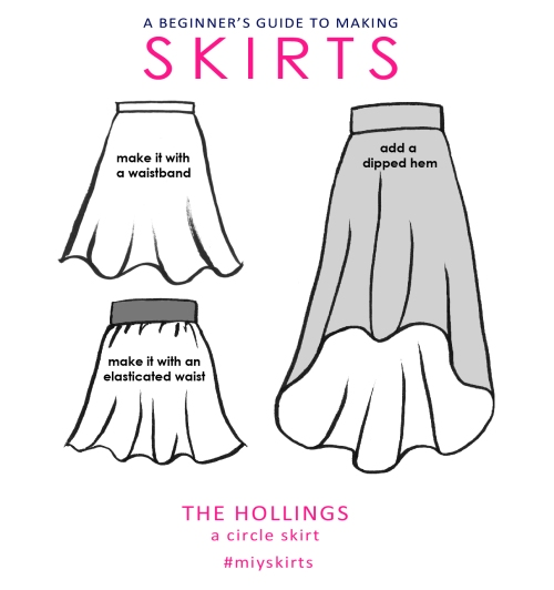 hollings circle skirt