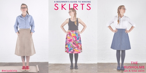 Beginner's Guide to Making Skirts – The Rusholme Skirt ...