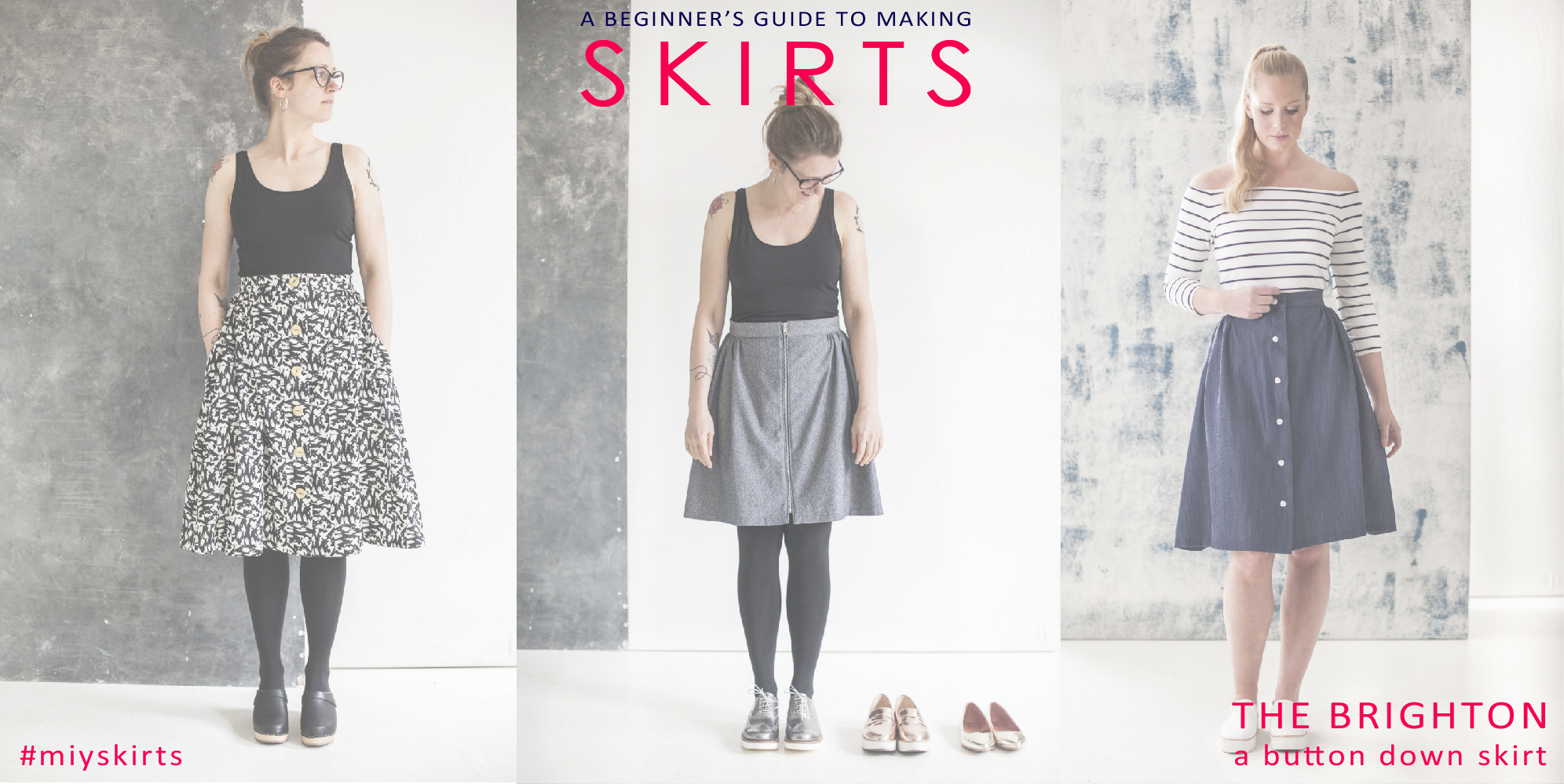 Beginner's Guide to Making Skirts – The Brighton Skirt ...