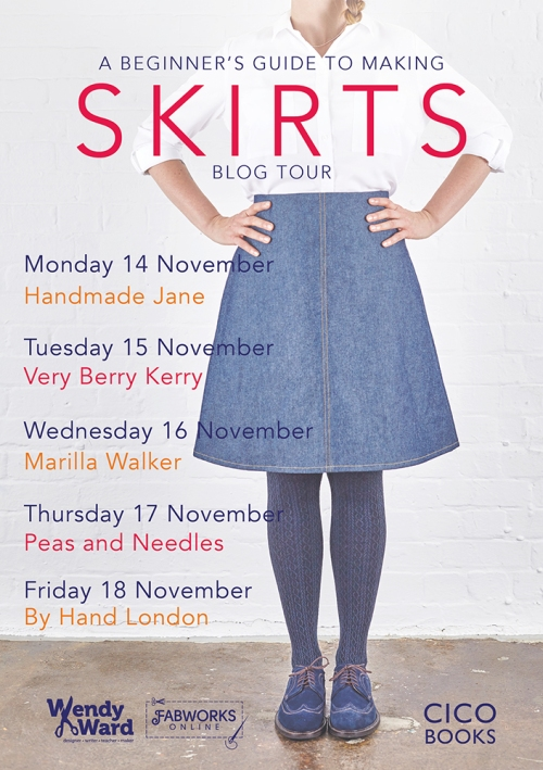 beginners guide to skirts blog tour