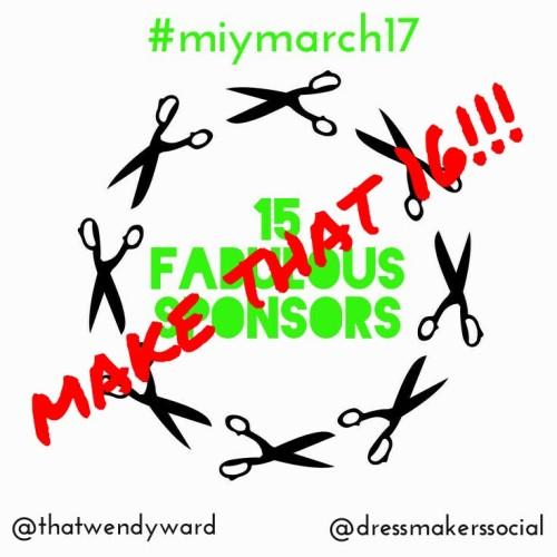 MIY March sponsors