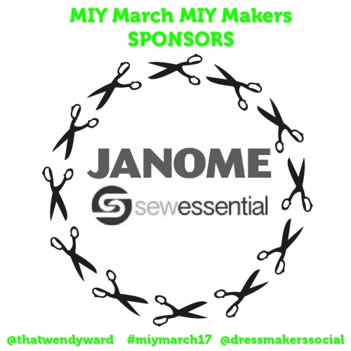 MIY March MIY Makers Sponsors