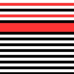 how to sew stripes