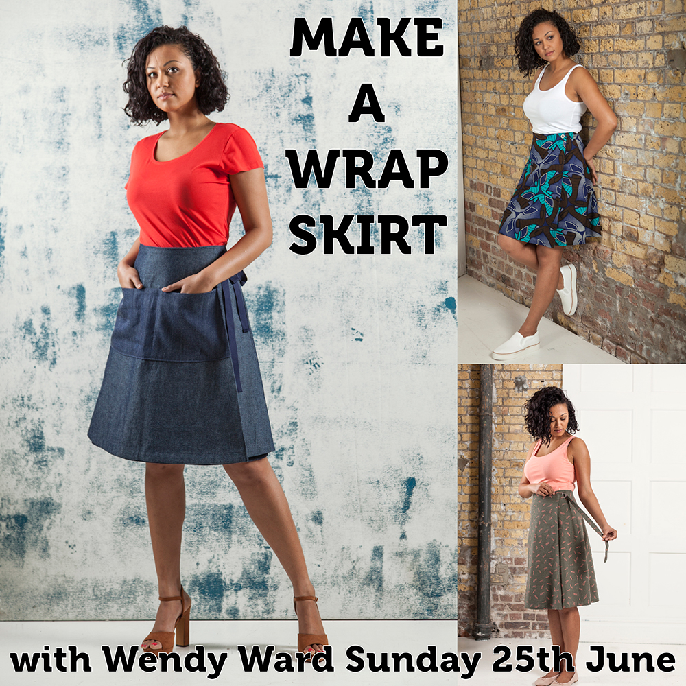 how to make a wrap skirt | Wendy Ward