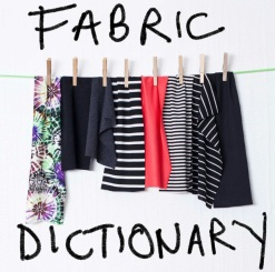fabric dictionary
