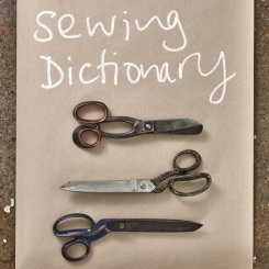 sewing dictionary