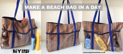 make a beach bag class