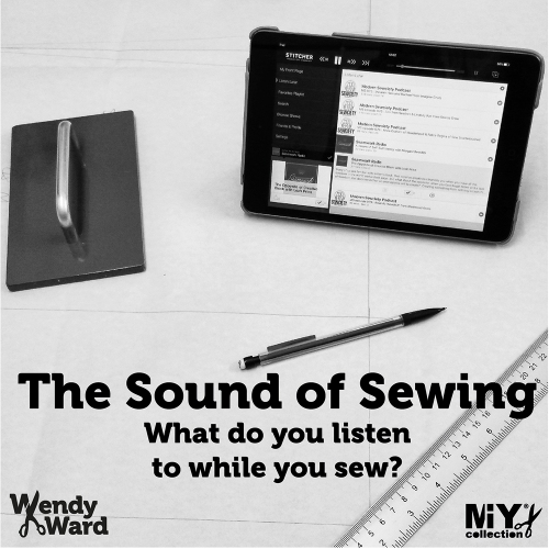 listen while you sew