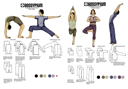yoga designs for gossypium