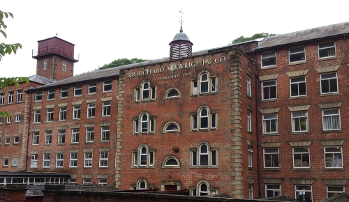 masson mills factory tour