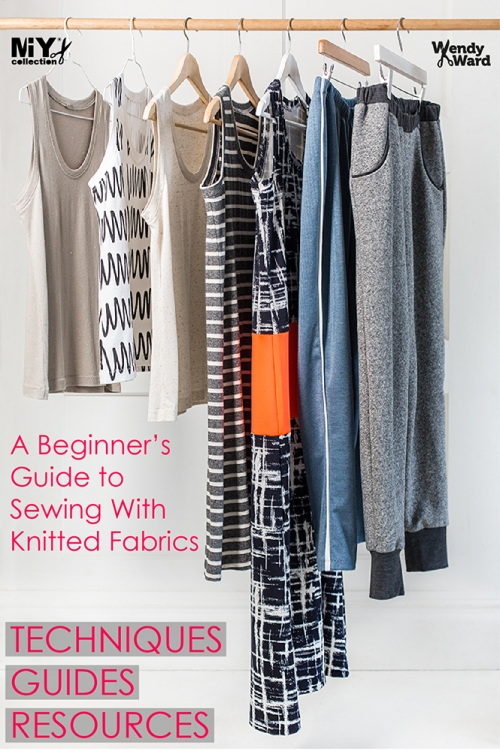 how to sew jersey