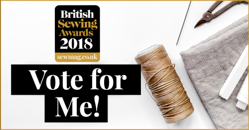 British Sewing Awards best book
