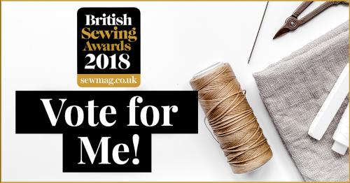 British Sewing Awards best book