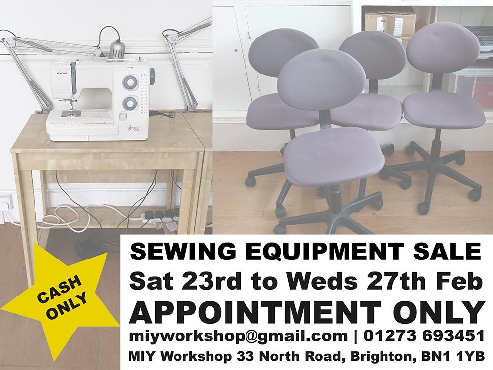sewing equipment brighton